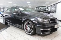 USED 2013 62 MERCEDES-BENZ C CLASS 6.2 C63 AMG MCT 487 BHP PPP PERFORMANCE PACK HK FMBSH CARBON