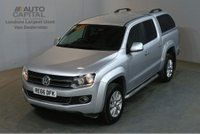 USED 2016 66 VOLKSWAGEN AMAROK 2.0 DC TDI HIGHLINE 4MOTION AUTO 180 BHP SAT NAV AIR CON START STOP ONE OWNER FULL S/H SPARE KEY