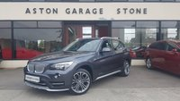 USED 2014 64 BMW X1 2.0 XDRIVE20D XLINE AUTO 181 BHP **F/D/S/H * LEATHER** **LEATHER * CRUISE * F&R SENSORS * DAB**