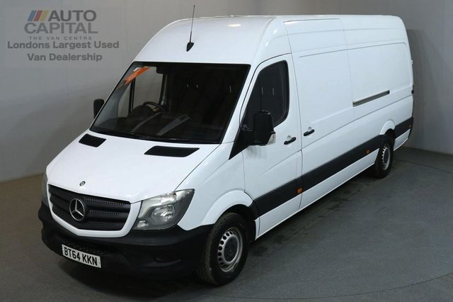 2014 64 MERCEDES-BENZ SPRINTER 2.1 313 CDI LWB 129 BHP H/ROOF PANEL VAN ONE OWNER FULL S/H SPARE KEY