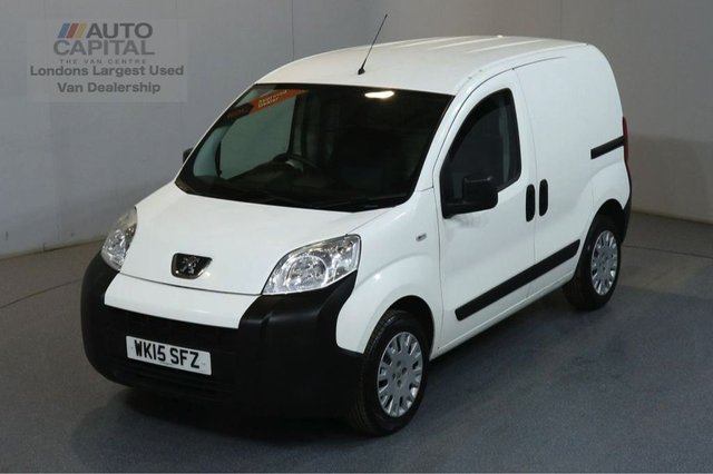 2015 15 PEUGEOT BIPPER 1.2 HDI PROFESSIONAL 75 BHP AIR CON SWB VAN AIR CONDITIONING S/H SPARE KEY