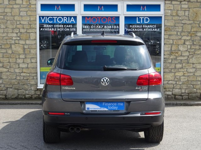 VOLKSWAGEN TIGUAN at Victoria Motors Ltd