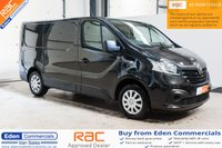 2015 RENAULT TRAFIC 1.6 SL27 BUSINESS PLUS ENERGY *BLACK + AIR CON* £10995.00