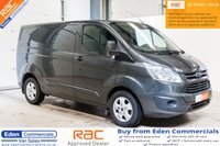 2015 FORD TRANSIT CUSTOM 2.2 270 LIMITED 124 BHP MAGNETIC METALIC GREY £11495.00
