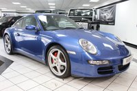 USED 2006 06 PORSCHE 911 3.8 CARRERA 4S 350 BHP CHRONO PASM SPORTS SEATS FPSH!