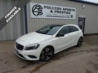USED 2013 T MERCEDES-BENZ A CLASS 1.6 A200 BLUEEFFICIENCY SPORT 5d AUTO 156 BHP + PAN ROOF + STUNNING CAR