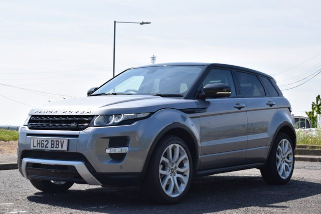 USED 2012 62 LAND ROVER RANGE ROVER EVOQUE 2.2 SD4 DYNAMIC LUX 5d AUTO 190 BHP