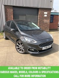 USED 2018 18 FORD FIESTA 1.0 VIGNALE 5d 138 BHP This VEHICLE CAN BE ORDERED FROM MOTABILITY