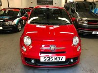 USED 2015 15 ABARTH 500  1.4 T-Jet 3dr low miles FSH  1 owner , Excellant performance from this little 1.4 turbo ABARTH.