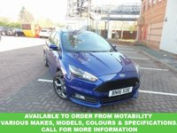 USED 2016 16 FORD FOCUS 2.0 ST-3 TDCI 5d 183 BHP This VEHICLE CAN BE ORDERED FROM MOTABILITY