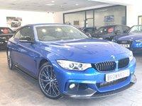 USED 2015 15 BMW 4 SERIES  435D XDRIVE M SPORT 2d AUTO 309 BHP M PERFORMANCE STYLING+SAT NAV
