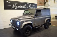 USED 2011 11 LAND ROVER DEFENDER 90 2.4 90 TD HARD TOP 2d 121 BHP ** PLUS VAT ** **PLUS VAT** STUNNING 90 HARDBACK - ONE OWNER - 8 STAMPS TO 122K - LED HEADLIGHTS AND REAR LIGHTS - SIDE STEPS - PLY LINED REAR