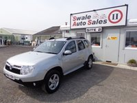 USED 2014 64 DACIA DUSTER 1.5 LAUREATE DCI 4WD 5d 109 BHP £39 PER WEEK, NO DEPOSIT - SEE FINANCE LINK