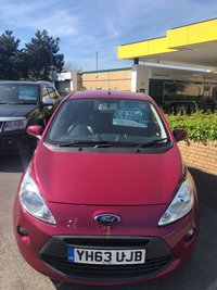 USED 2013 63 FORD KA 1.2 ZETEC 3d 69 BHP