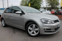 USED 2015 65 VOLKSWAGEN GOLF 2.0 MATCH TDI BLUEMOTION TECHNOLOGY 5d 148 BHP EXCELLENT SERVICE HISTORY - SUPERB SPECIFICATION INCLUDING SAT NAV, BLUETOOTH AND PARKING SENSORS