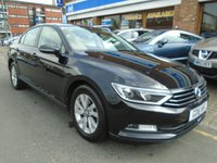USED 2016 16 VOLKSWAGEN PASSAT 1.6 S TDI BLUEMOTION TECHNOLOGY 4d 119 BHP DAB RADIO, 32,000 MILES