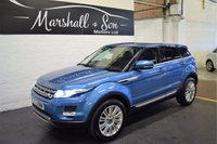 USED 2013 63 LAND ROVER RANGE ROVER EVOQUE 2.2 SD4 PRESTIGE LUX 5d AUTO 190 BHP 4X4 STUNNING CAR - ONE PREVIOUS KEEPER - LANDROVER S/H - 4X4 - 190BHP - LEATHER - NAV - TV - DUAL VIEW- GLASS PANROOF - 360 CAMERAS