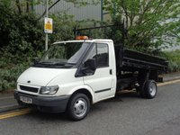USED 2003 03 FORD TRANSIT 2.4 350M 1d 90 BHP TIPPER SPARES OR REPAIRS