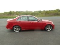 USED 2010 60 MERCEDES-BENZ C CLASS 2.1 C250 CDI BLUEEFFICIENCY SPORT 4d AUTO 204 BHP sat nav leather pano roof