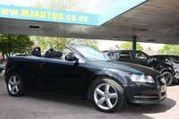 USED 2010 60 AUDI A3 CABRIOLET 1.6 TDI TECHNIK Cabriolet 2dr  ELECTRIC CONVERTIBLE ROOF ....LET THE SUN SHINE!!