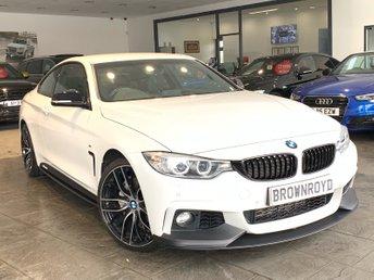 2014 BMW 4 SERIES 3.0 435D XDRIVE M SPORT 2d AUTO 309 BHP £21890.00