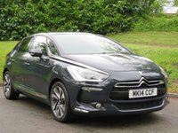 USED 2014 14 CITROEN DS5 2.0 HDI DSTYLE 5d 161 BHP REVERSE CAM, SAT NAV & MORE