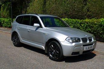 2006 BMW X3 2.0 D M SPORT 5d 148 BHP £4850.00