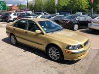 USED 2003 03 VOLVO S40 1.8 SPORT 4d 122 BHP