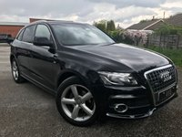 USED 2010 10 AUDI Q5 2.0 TDI S line S Tronic quattro 5dr Arriving next week