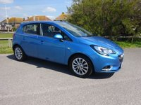 2018 VAUXHALL CORSA 1.4 SE NAV 5 Dr 1 OWNER EX MOTABILITY BLUE                      4200 MILES ONLY. ROAD TAX £145. VAUXHALL WARRANTY TO NOVEMBER 2021 £11495.00