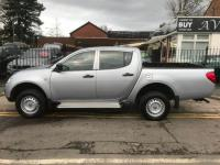 USED 2015 15 MITSUBISHI L200 2.5 DI-D CR 4Life LB Double Cab 4WD 4dr (EU5) 1 OWNER price plus VAT