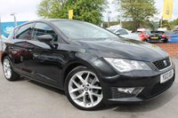USED 2013 13 SEAT LEON 2.0 TDI FR 5d 150 BHP BEAUTIFUL LEON FR - UPGRADED ALLOYS - 5 SERVICE STAMPS - £20 ROAD TAX - PERFORMANCE AND ECONOMY