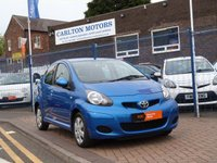 USED 2010 60 TOYOTA AYGO 1.0 BLUE VVT-I 5d 67 BHP £20 TAX ~FULL SERVICE HISTORY ~ BLUETOOTH ~ AIR CONDITIONING ~ IDEAL FIRST CAR