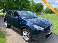 USED 2012 12 NISSAN QASHQAI 1.6 ACENTA IS DCIS/S 5d 130 BHP Lovely example of these very popular SUV's. Looking for a little extra family space? Then look no further.