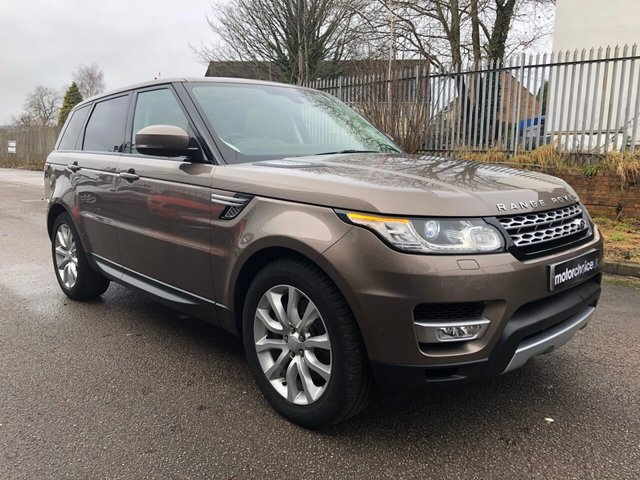 USED 2015 LAND ROVER RANGE ROVER SPORT 3.0 SDV6 HSE 5d AUTO 288 BHP
