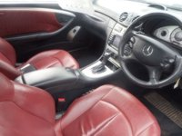 USED 2007 07 MERCEDES-BENZ CLK 3.0 CLK320 CDI SPORT 2d AUTO 222 BHP RED LEATHER SAT NAV