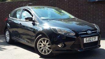 2012 FORD FOCUS 1.6 TITANIUM 5d 148 BHP £6689.00
