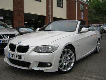 2011 BMW 3 SERIES 2.0 320D M SPORT 2d AUTO 181 BHP £SOLD