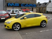 USED 2012 61 VAUXHALL ASTRA 1.4 GTC SRI S/S 3d 138 BHP 1 OWNER FROM NEW,ONLY 44000 MILES