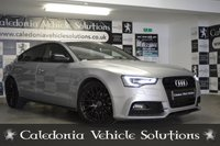 USED 2015 65 AUDI A5 2.0 TDI BLACK EDITION PLUS 5d AUTO 148 BHP ONE FORMER KEEPER with SERVICE HISTORY & 12 MONTHS MOT