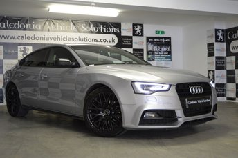 2015 AUDI A5 2.0 TDI BLACK EDITION PLUS 5d AUTO 148 BHP £17995.00