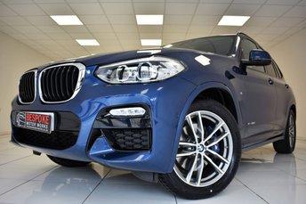 2018 BMW X3 XDRIVE30D M SPORT AUTOMATIC £33995.00