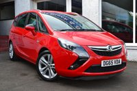 2015 VAUXHALL ZAFIRA TOURER 1.4 TURBO SRI 5d 138 BHP £8995.00