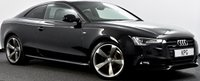 USED 2013 13 AUDI A5 2.0 TD Black Edition quattro 2dr Heated Leather, B&O, Xenons ++