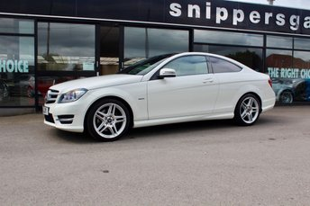 2011 MERCEDES-BENZ C CLASS 3.5 C350 BLUEEFFICIENCY AMG SPORT 2d AUTO 306 BHP £15000.00