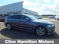 USED 2016 65 AUDI A6 2.0 AVANT TDI ULTRA S LINE 5d 188 BHP HEATED SEATS