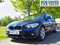 USED 2017 17 BMW 1 SERIES 1.5 116D ED PLUS 3d 114 BHP