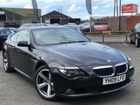 USED 2009 09 BMW 6 SERIES 3.0 635D SPORT 2d AUTO 282 BHP *PANORAMIC SUNROOF, FULL BMW HISTORY*