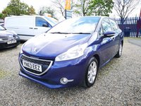USED 2013 63 PEUGEOT 208 1.2 ACTIVE 5d 82 BHP ++£20 ROAD TAX-FINANCE AVAILABLE++