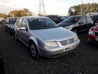 2004 VOLKSWAGEN BORA 1.9 SPORT TDI 4d 129 BHP £SOLD